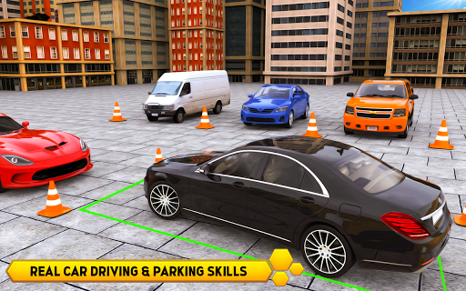 US Smart Car Parking 3D - City Car Park Adventure  screenshots 2