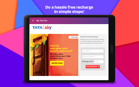 Tata Sky Mobile- Live TV, Movies, Sports, Recharge  App Download For Android and iPhone 9