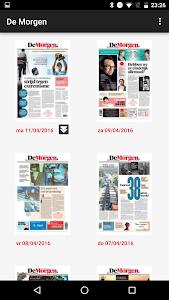 De Morgen digitale krant screenshot 4