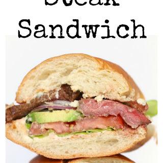 The Perfect Steak Sandwich!.