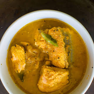 South Indian Style Fish Curry.
