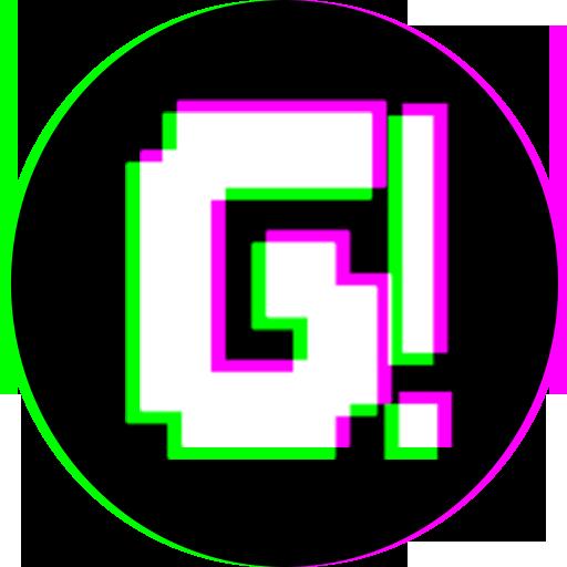 glitch camera effect 3D Anaglyph photo editor