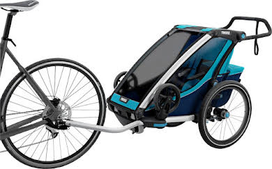 Thule Chariot Cross 1 Trailer and Stroller: Blue, 1 Child alternate image 0