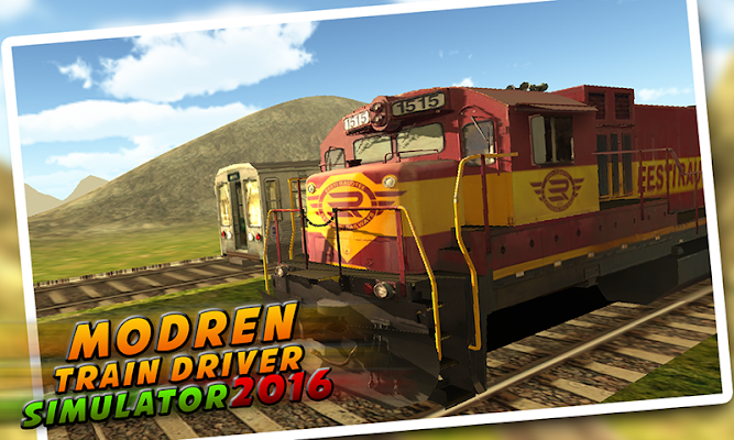 Modern Train Drive Sim 2016 - screenshot