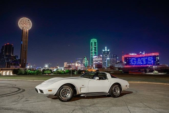 1978 25th Anniversary Chevrolet Corvette Hire Carrollton