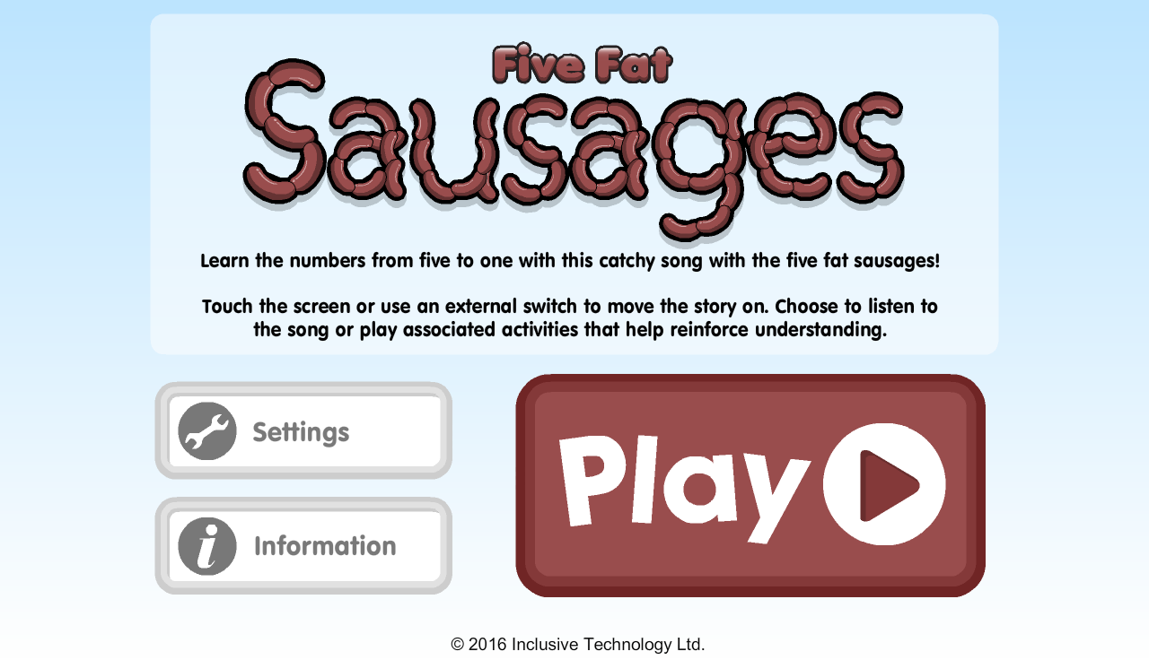 Five Fat Sausages- screenshot