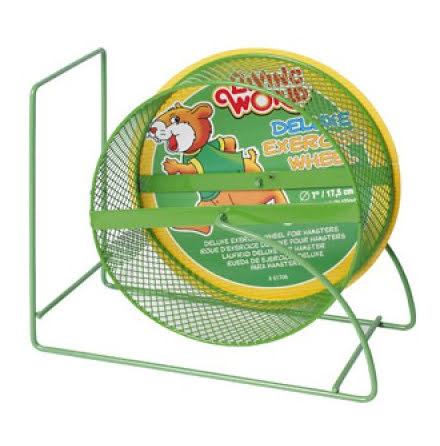 Hamsterhjul Deluxe Grön 17,5cm