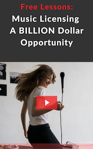 Music Licensing a Billion Dollar Opportunity