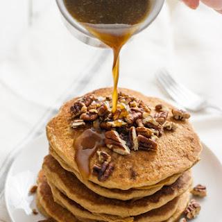Vegan Pecan Pie Pancakes