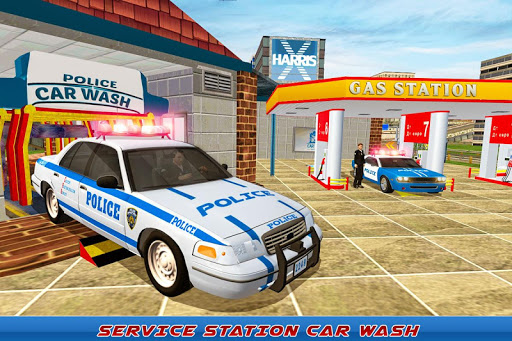 Gas Station Police Car Services: Gas Station Games 1.0 screenshots 5