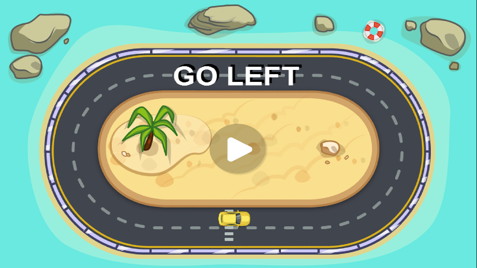 Go Left!- screenshot