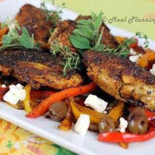 Mediterranean-Spiced Chicken Thighs.