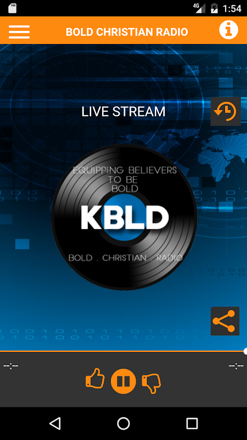 KBLD 91.7 BOLD Christian Radio- screenshot