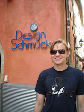 Photo: Schmuck = jewelry, in German. After a year in the US Alex thinks it is funny, too