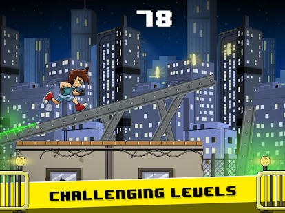 The Last Runner: Run fast and Jump high Screenshot