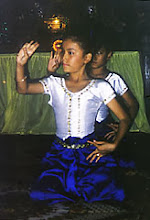 Photo: Young Cambodian dancers performed with grace and precision.