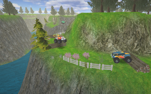 Hill Climb AED Monster Truck