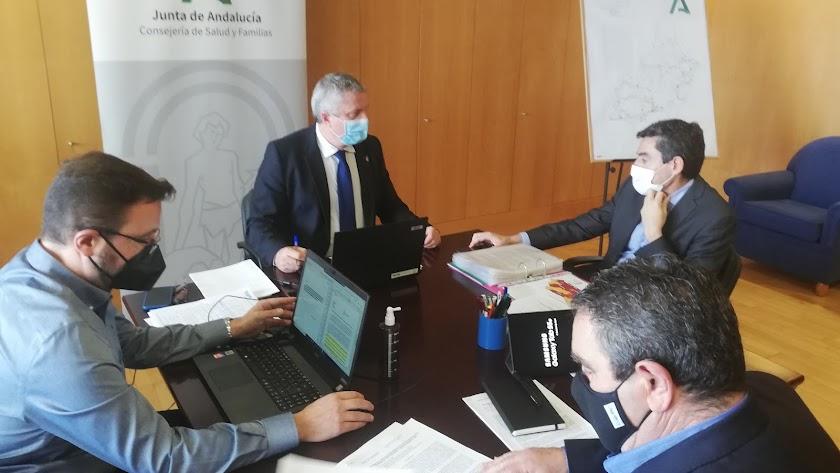 Reunión del comité territorial de Alerta de Salud Pública.