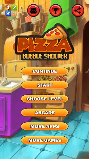 Pizza Bubble Shooter