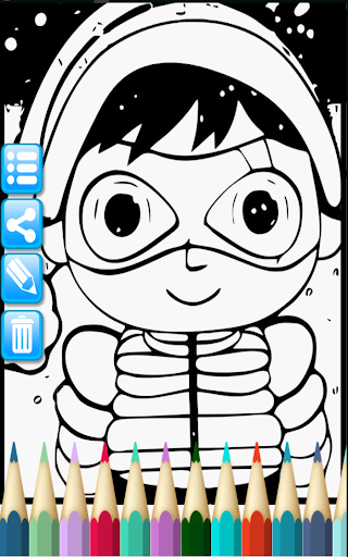 ryan toy coloring book for kids () hack cheats