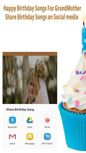 Canzoni di buon compleanno per la nonna screenshot