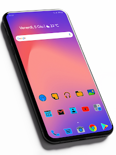Pixel Limitless Fluo – Icon Pack (MOD, Paid) v1.1 1