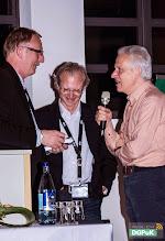 Photo: DGPuK 2014 Gala-Abend in der Innsteg-Aula  Ehrungen: Manfred Rühl: 50 Jahre Mitgliedschaft Christian Schneiderbauer (mittig): 25 Jahre Mitgliedschaft Michael Haller (rechts): 25 Jahre Mitgliedschaft   Foto: Janertainment Janine Amberger