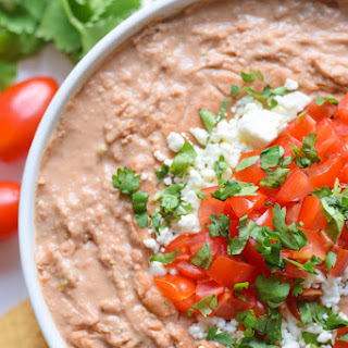 The Best Creamy Jalapeño Bean Dip