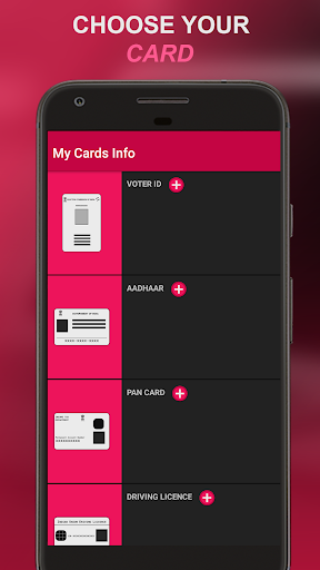My Cards Info - Your ID Cards Wallet App hack tool