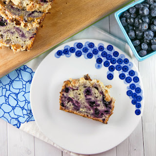 Blueberry Pie Quick Bread