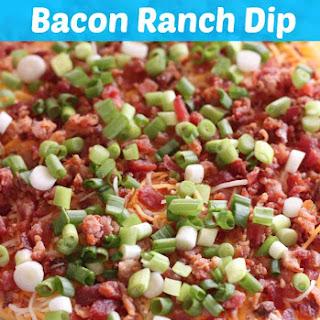 Layered Bacon Ranch Dip
