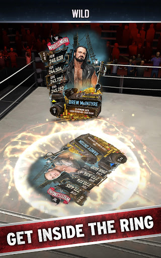 WWE SuperCard – Multiplayer Card Battle Game screenshots 1