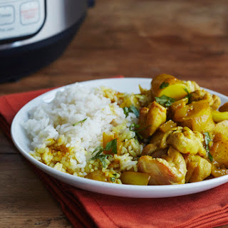 Freezer-to-Pressure-Cooker Chicken Curry.