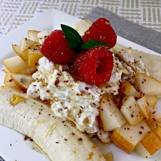 Breakfast Banana Split.
