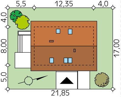 Jagoda 2 CE - Sytuacja