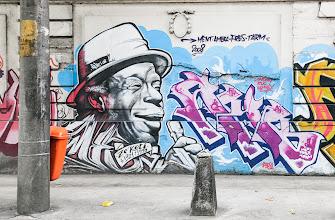Photo: Rio De Janiero, Brazil Street Art by Ment