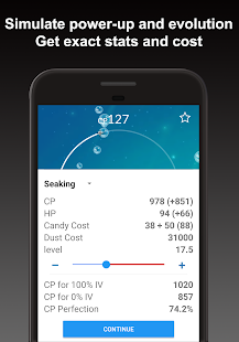 Poke Genie - Safe IV Calculator for Pokemon Go- screenshot thumbnail