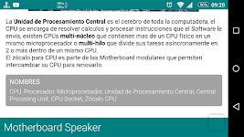 screenshot of Manual PC - Componentes