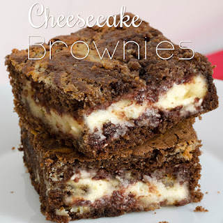 Cheesecake Brownies.