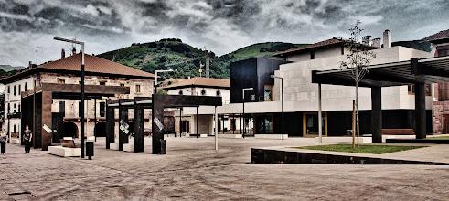 Foto: Elizondoko Forun plaza