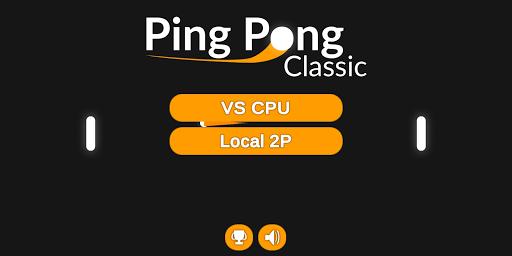 Classic Ping Pong HD screenshots 1