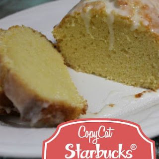 Copycat Starbucks® Lemon Pound Cake