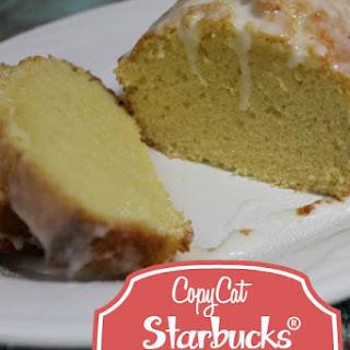 Copycat Starbucks® Lemon Pound Cake.