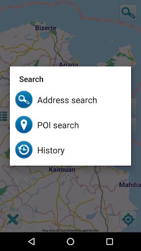 map of tunisia offline screenshot 2
