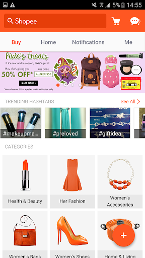 Shopee PH: Buy&Sell on Mobile app (apk) free download for Android/PC/Windows screenshot