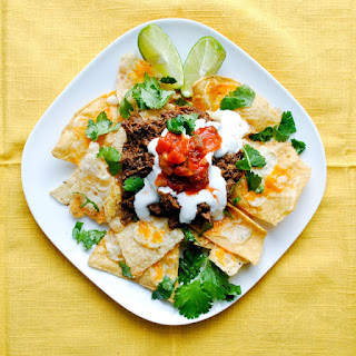 Crockpot Barbacoa Beef and Killer Spicy Nachos