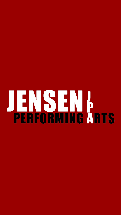 Jensen Performing Arts – zrzut ekranu