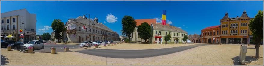 Photo: Turda- Piata Republicii, Nr. 5 - Fosta Judecatorie , vedere de ansamblu  - 2019.06.30