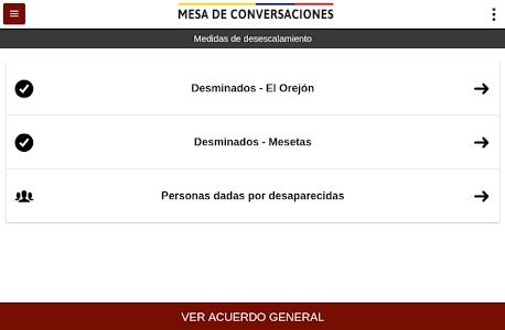 Mesa de Conversaciones screenshot 3
