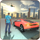 Gangster New City Car Driver Open World icon